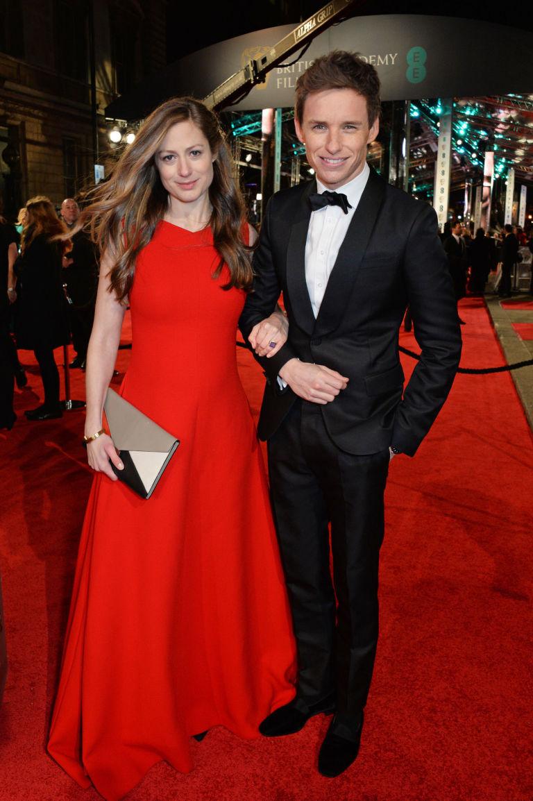 Eddie Redmayne és Hannah Bagshawe.