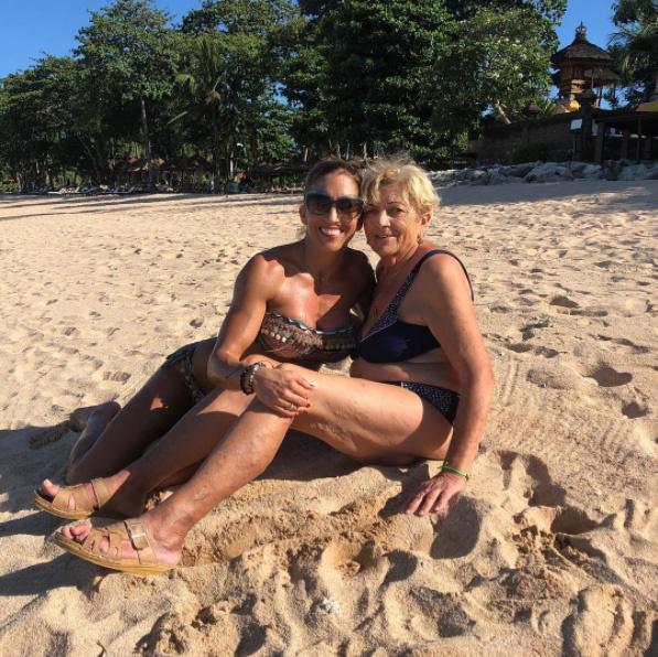 Rubint Réka Bali szigetén nyaralt édesanyjával, aki néhány éve 40 kilót adott le.
