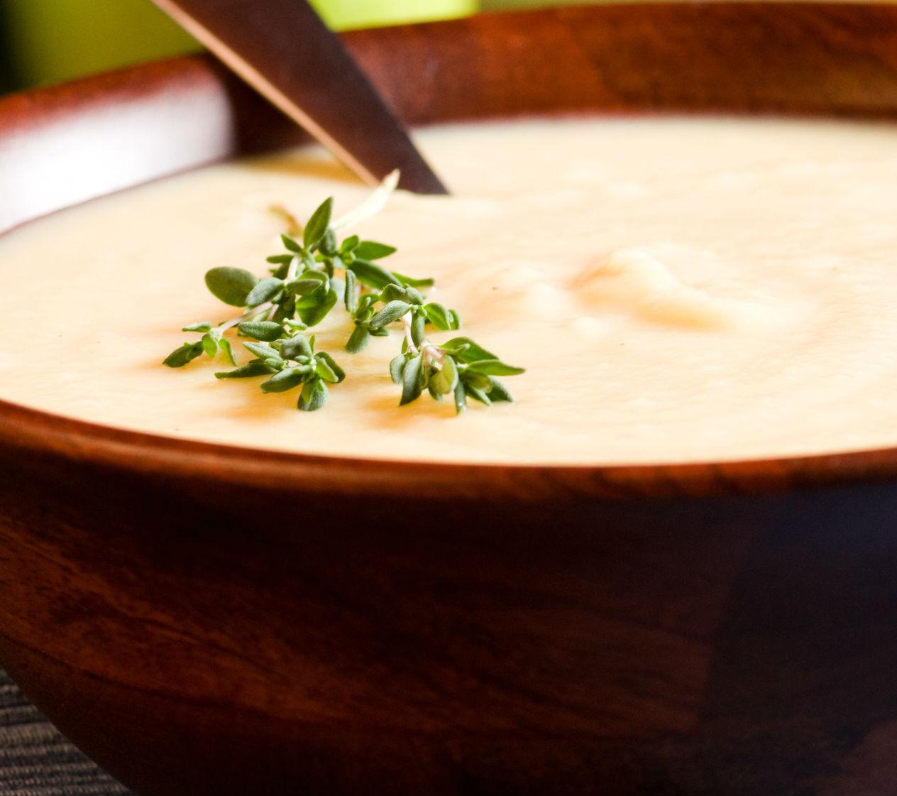 Fahéjas, tejszínes birsalmaleves melegen - Így biztosan nem lesz csomós a habarás