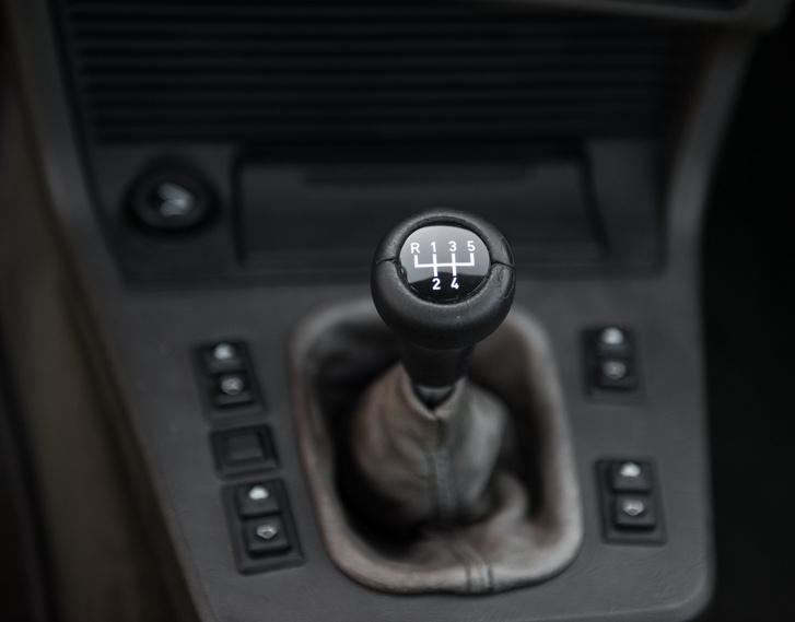 A korszak, amikor a  BMW még szerette a kézi váltót