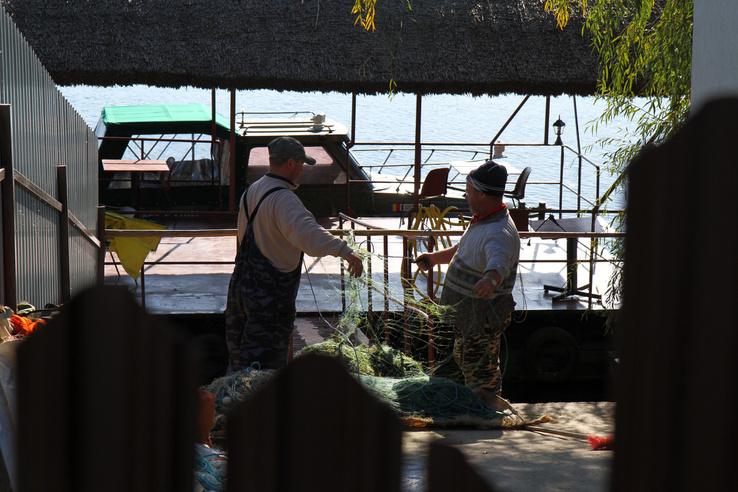 Lipován halászok Mila23-on