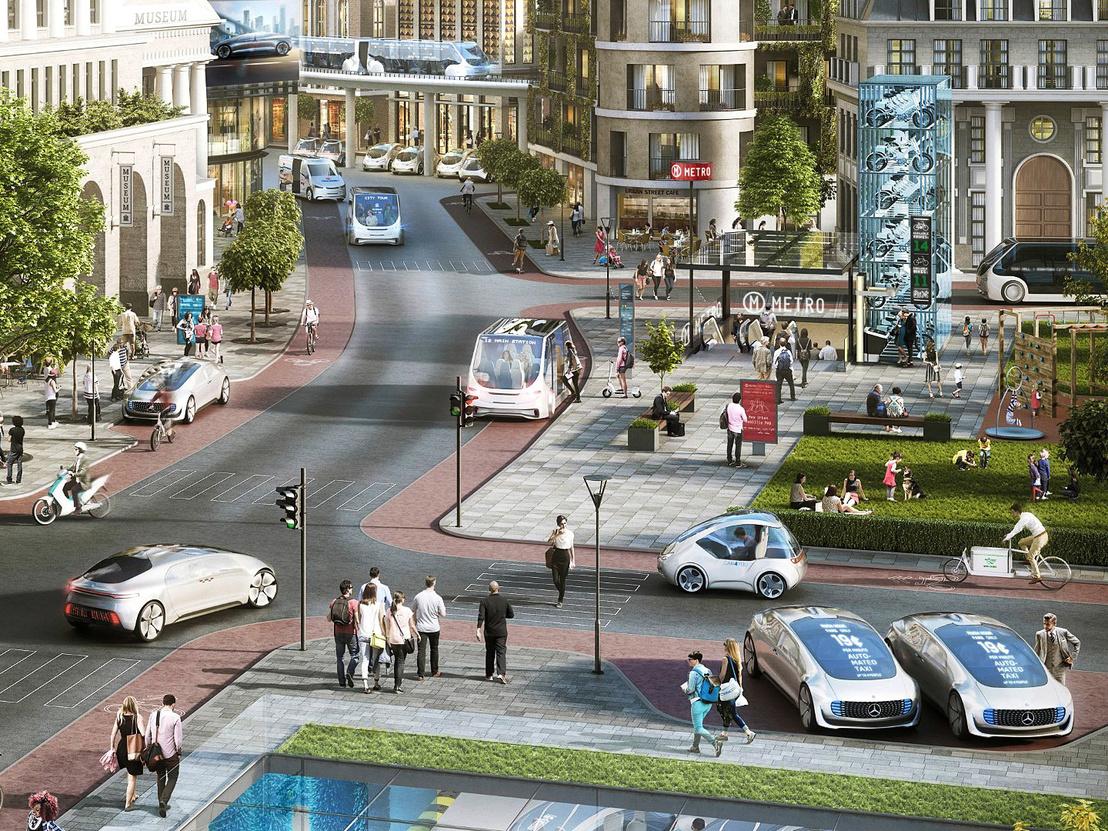 Így képzeli el az önvezető taxis jövőt a Bosch-Daimler