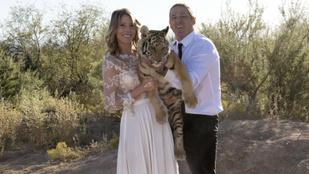 Azért baromi jó lehet egy szafariparkban esküvőzni
