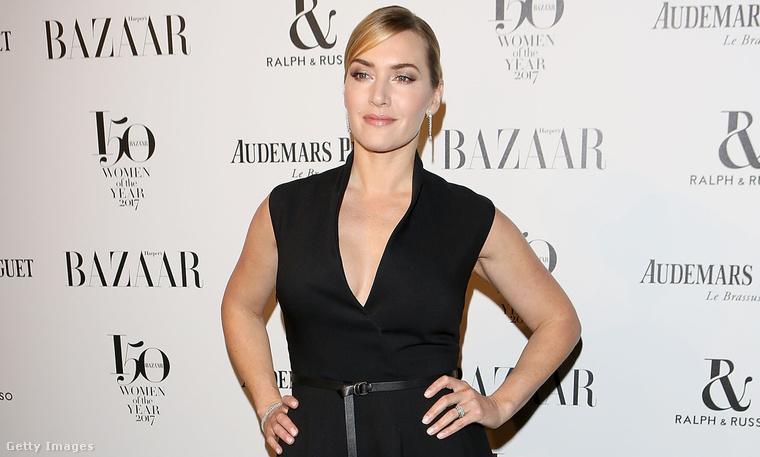 4. A Harper's Bazaar az év nőit díjazta a héten, a Women of the Year-gálán Kate Winslet egy ilyen minimálszettben mutatta meg magát.