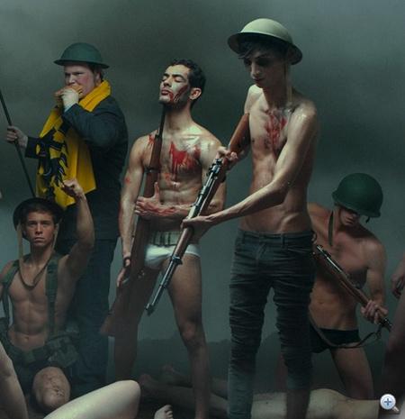 Alexis McDrew - The Belgian War Has Begun, kattintson a képre!