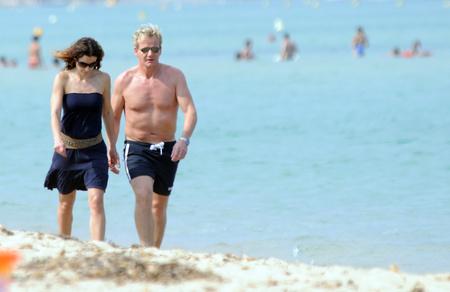 Gordon Ramsayék itt épp nyaralnak