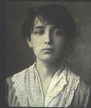 Camille Claudel 19 évesen, 1884-ben