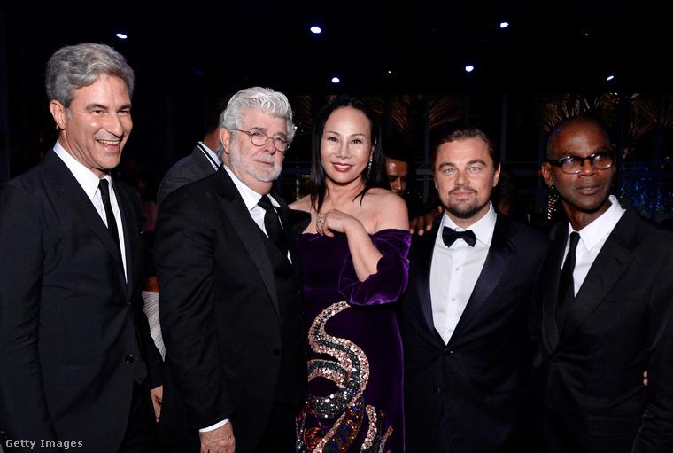 Ahogy már emlegettük, a hétvégén tehát Los Angelesben George Lucast és Mark Bradfordot ünnepelték egy szuper-A-listás rendezvényen