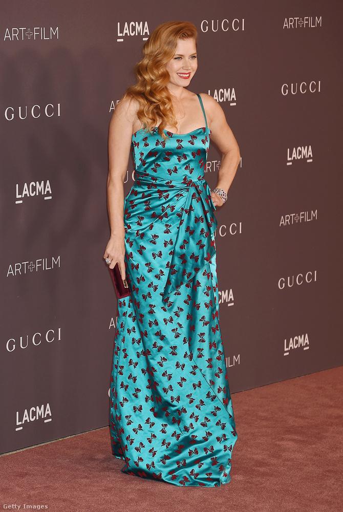 Amy Adamst csak azért mutatjuk meg, mert őt is régen láttuk, de hát ott volt, és ugye többszörös Golden Globe-díjazott színésznő.