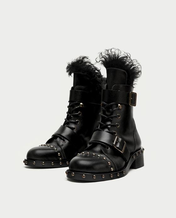 Ezt a bevállalósabb bakancsot a Zara árulja 32.995 forintért.