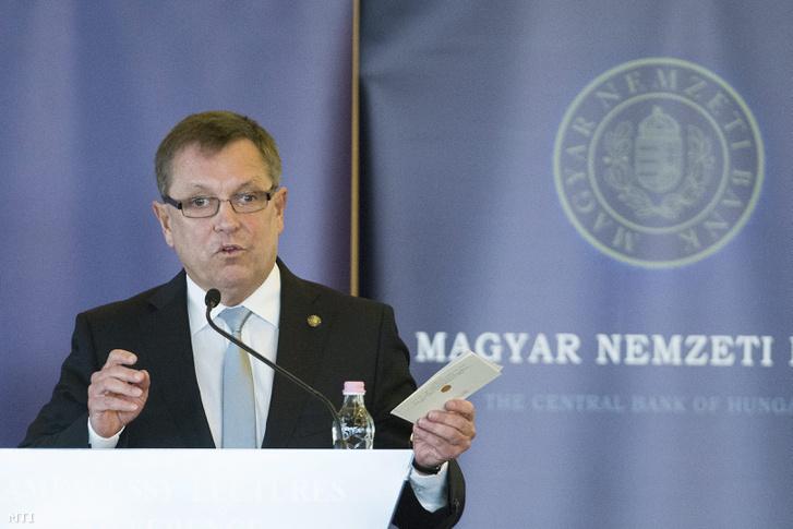 Matolcsy György a Magyar Nemzeti Bank elnöke