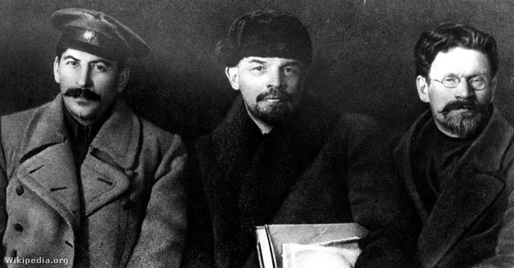 Sztálin, Lenin és Kalinyin