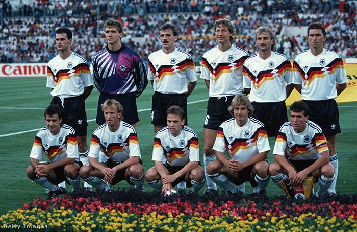 Németország, az Italia 90 győztese
