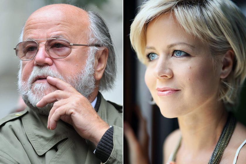 Haumann Péter lánya, Petra 1975-ben született meg. Számos budapesti színházban játszik, emellett szinkronizál is.