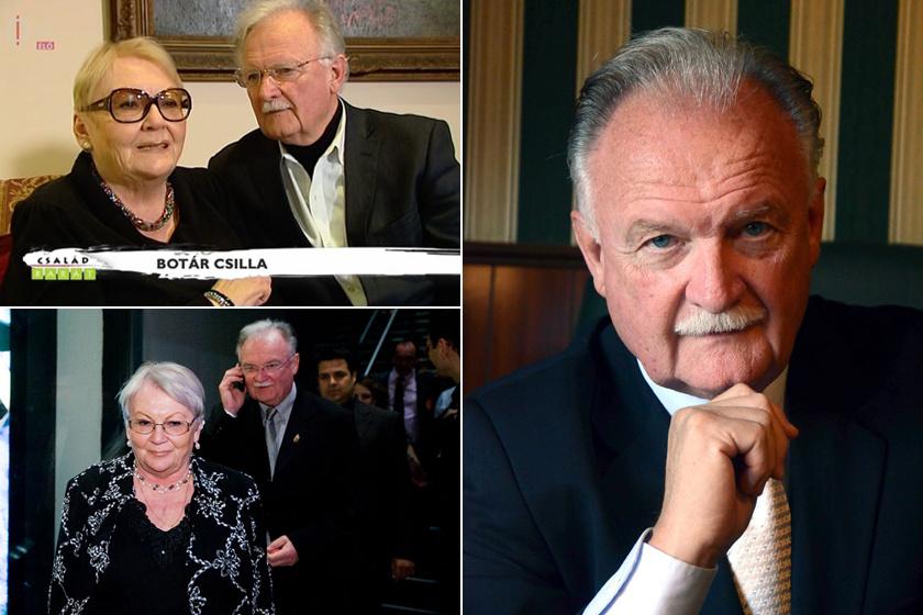 Balázs Péter kereken ötven éve, 1967-ben vette feleségül Botár Csillát, akivel a mai napig irigylésre méltó házasságban él.