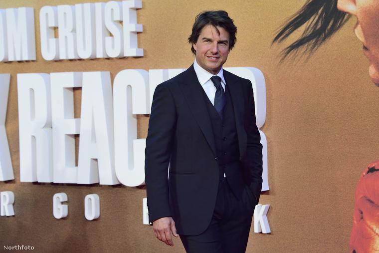 Tom Cruise maga sem volt soha olyan tomkrúzosan perfekt, mint...