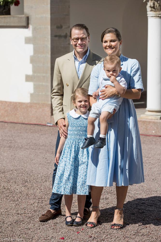 Viktória svéd királyi hercegnőnek és családjának!