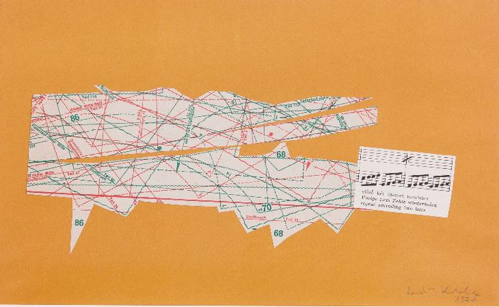 Ladik Katalin: Mars de triomphe 68', 1978.