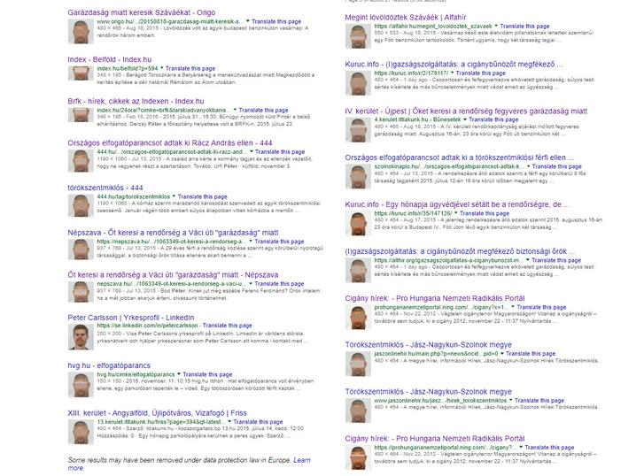 A képre futtatott Google-keresés alapján a sötétített fotót csak a Kuruc.info és az őket szemléző oldalak használták.
