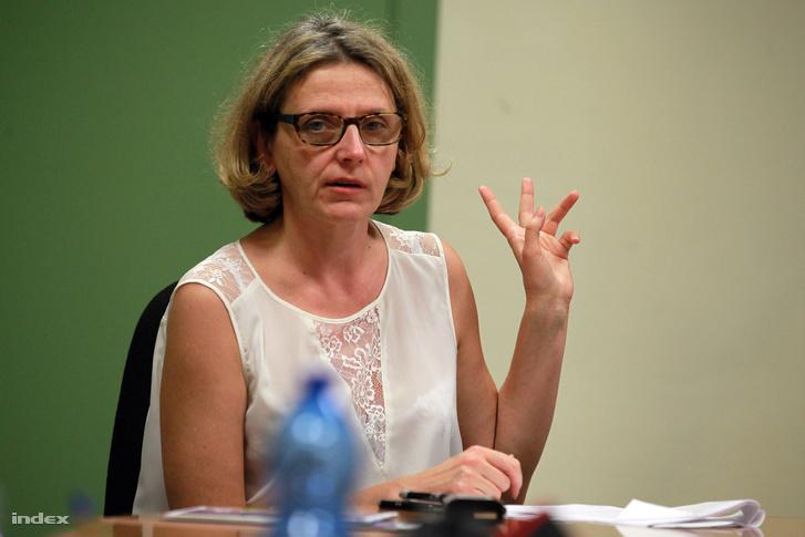 Ewa Moncure, a Frontex szóvivője