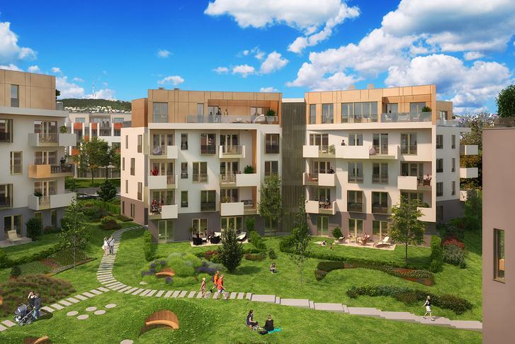 Folyamatosan bővül az elit lakóparkok kínálata a kerületben, Sasadon már a 6. ütem épül