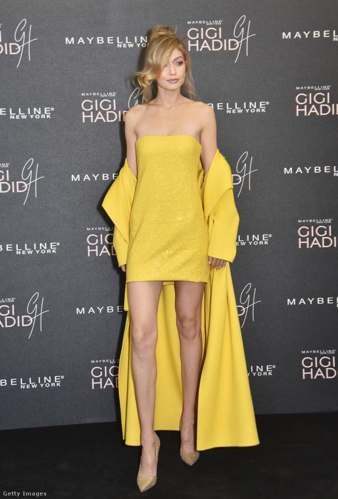 Gigi Hadid neve alatt új kozmetikumcsaládot adott ki a Maybelline nevű cég, és ez önmagában elég uncsi hír lenne, úgyhogy rendeztek az alkalomból egy partit Londonban csomó szexi nővel