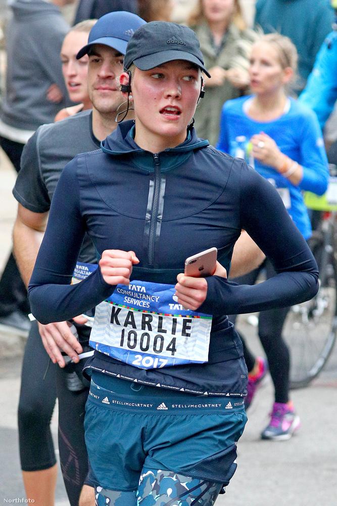 Karlie Kloss a New York-i Maratonon futEnnyi