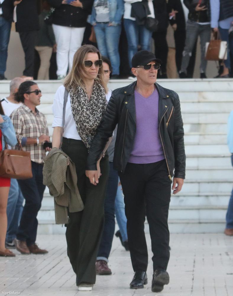 Antonio Banderas kijön a templombólA nem mindennapi eset Marbellában történt