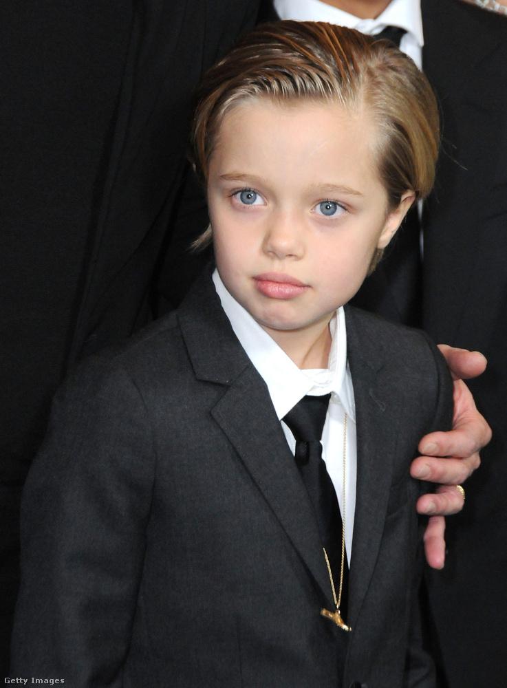 Shiloh Jolie-PittMint sok dologban, Angelina Jolie a gyereknevelésben is úttörő volt Hollywoodban