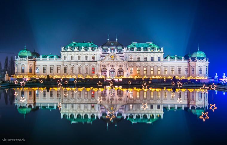 Aki inkább Bécs elegáns arcára vágyik, és barokk hangulatban vedelne forralt bort, mindenképpen látogasson el a Belvedere kastély karácsonyi falujába.