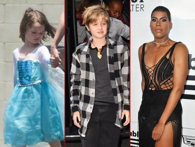 Ismerje meg jobban a sztárok transznemű és krosszdresszer gyerekeit!