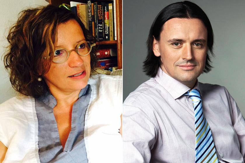 Balázsy Panna már több mint 15 éve él boldog házasságban Weinek Leonárddal.