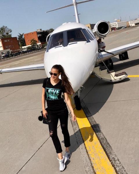 Ha utazik, Palácsik Lilla ilyen magánrepülőgéppel szeli át az óceánt.