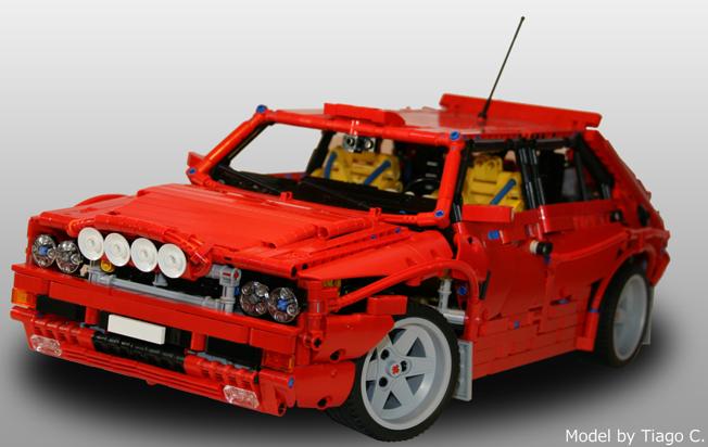 Lancia Delta Integrale Legóból