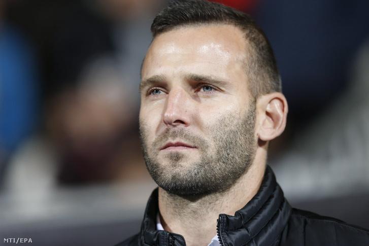 Szélesi Zoltán a Luxemburg elleni meccs közben.