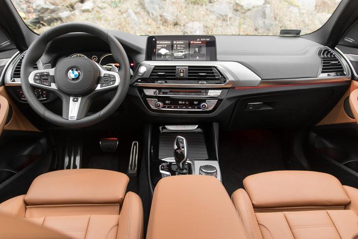 Szokásos BMW-s belső tér