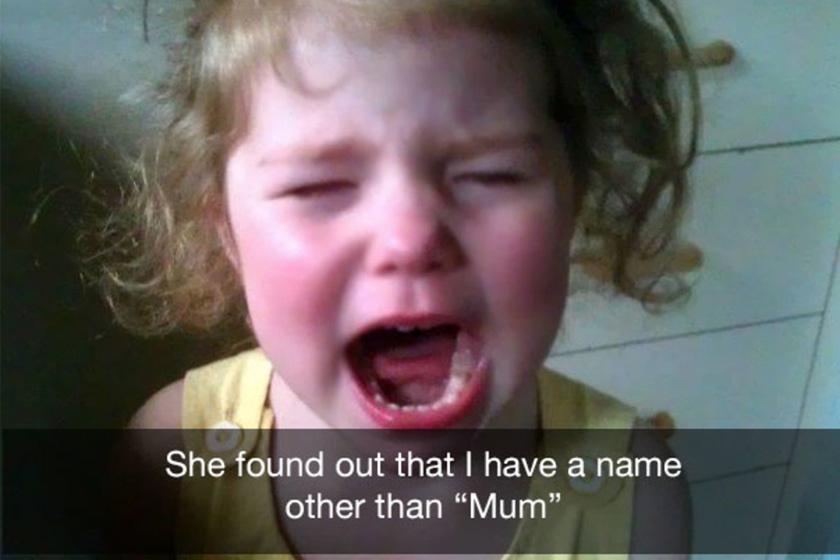 Megtudta, hogy anyának neve is van...
