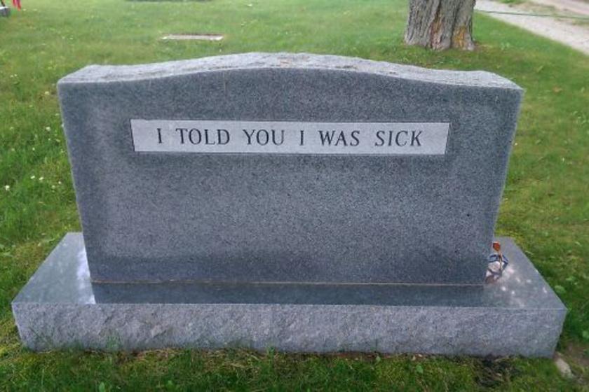 """""""Mondtam, hogy beteg vagyok."""""""