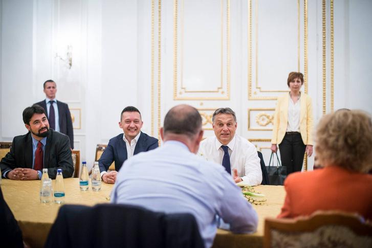 Tárgyalás az RMDSZ vezetőivel 2014. májusban