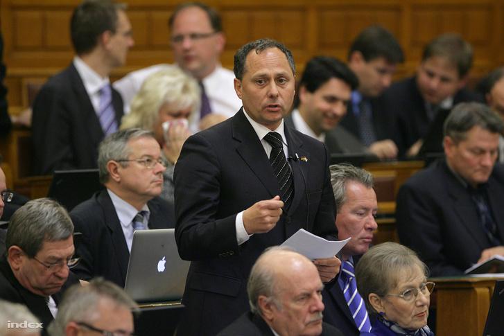 Nagy Andor a parlamentben