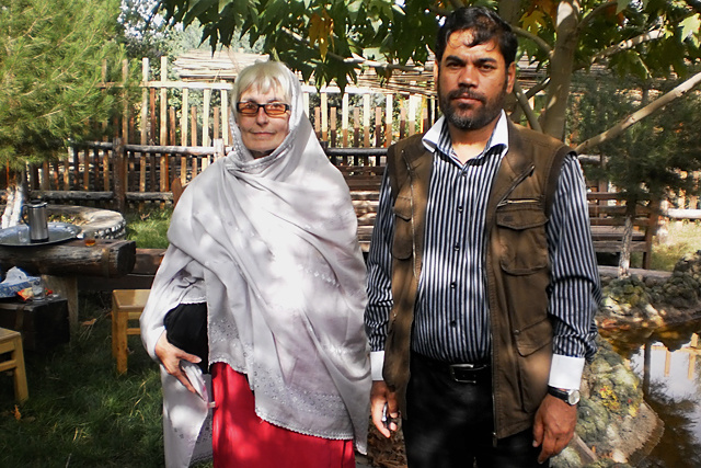 Katona Magda Nasrin és Nadzsibullah Kabuli