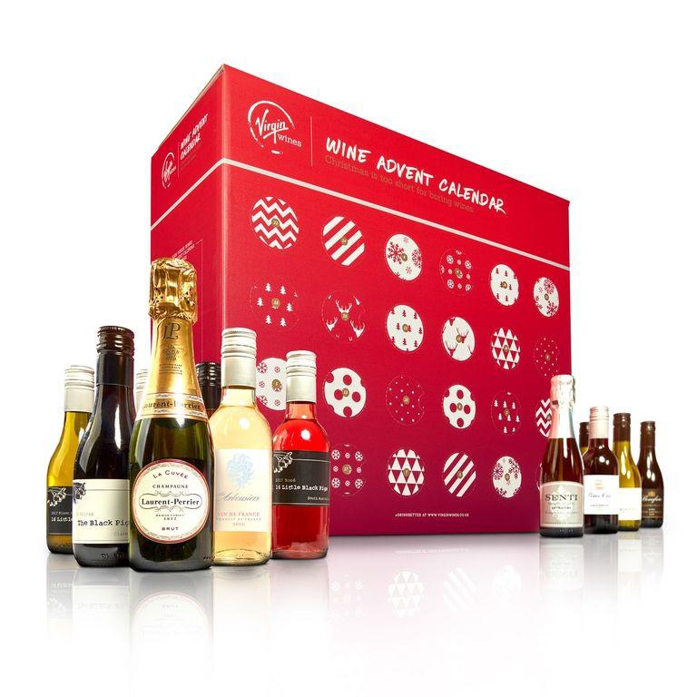 25 díjnyertes bort találtok a Virgin Wines naptárának ablakai mögött