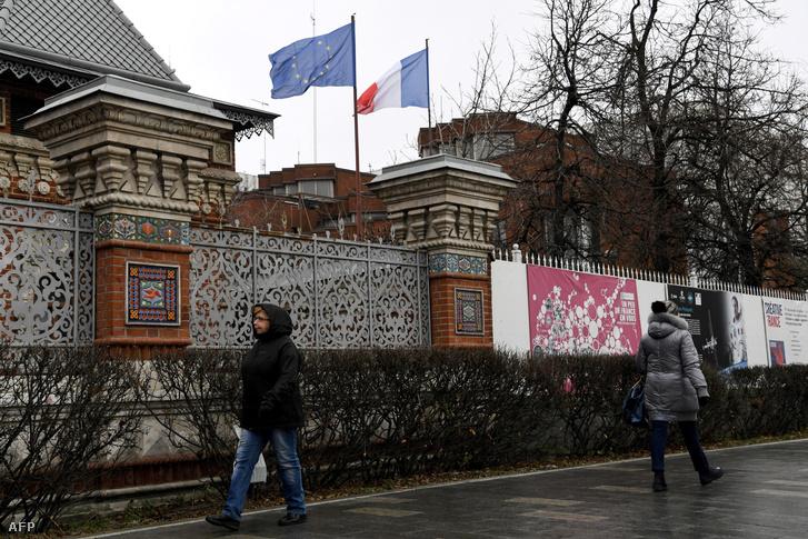 A moszkvai francia nagykövetség épülete