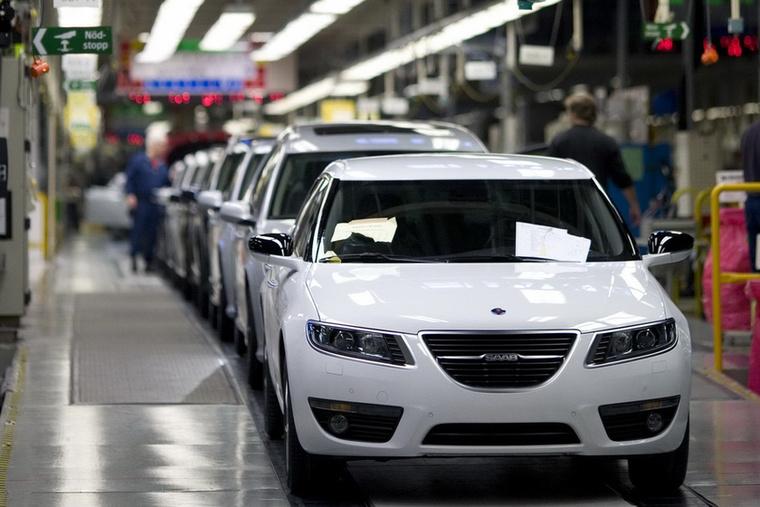 Ez a Saab - a szebb napokat is megélt svéd márka élesztgetésével mostanság a kínai NEVS foglalatoskodik