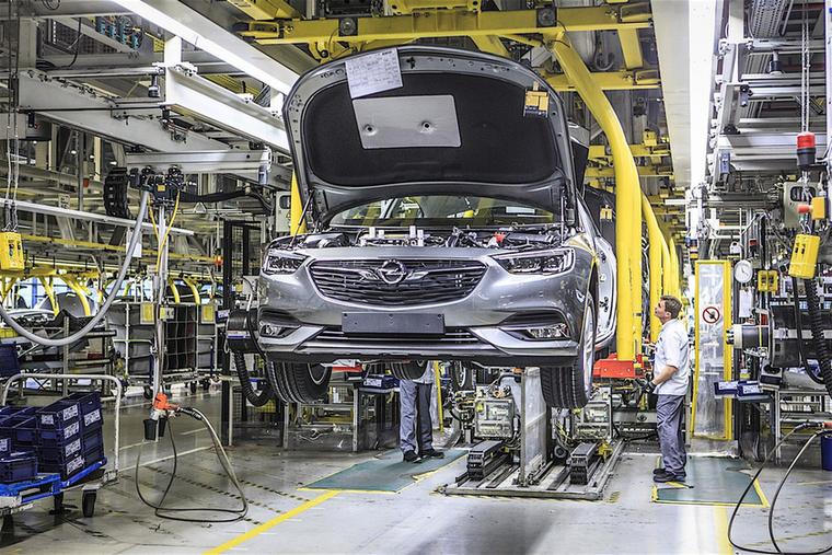 Az Opelról beszélünk, a vállalat ma már a PSA csoport része