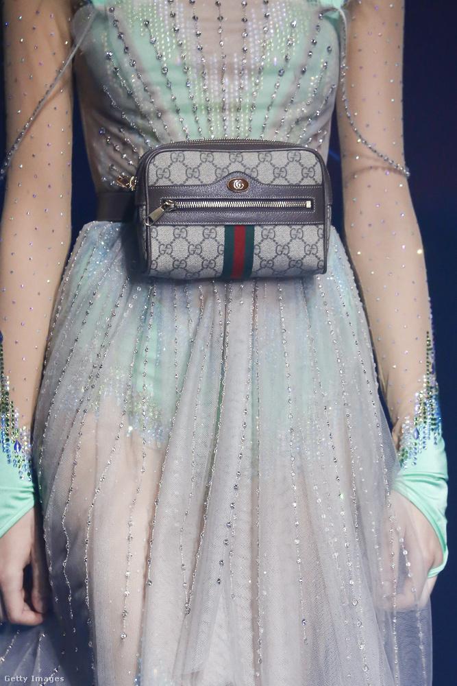 Kíváncsian várom, hogy mennyit kér majd ezért az övtáskáért a Gucci.