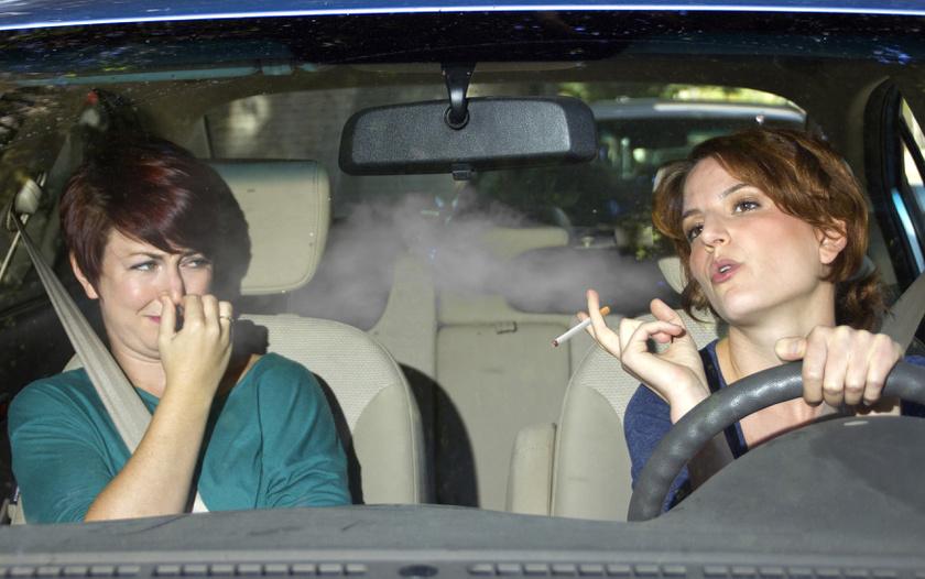 passzív-dohányzás