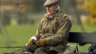 Nagyon élvezi a szabadságot II. Erzsébet frissen nyugdíjba vonult férje