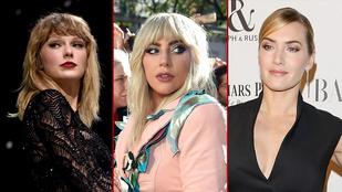Lady Gaga, Taylor Swift, Kate Winslet: csak néhány híresség, akinek komoly bántalmazásokat kellett elviselnie