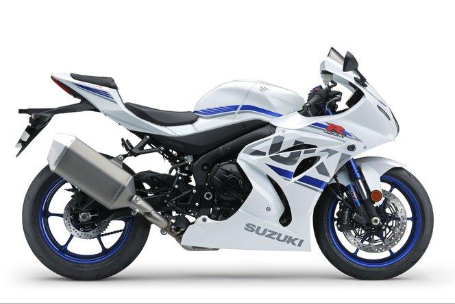 Suzuki GSX-R1000R 2018 white
